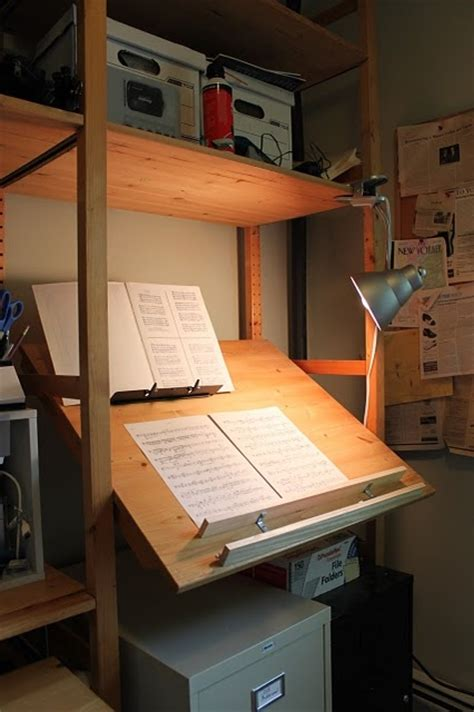 ikea hack double desk ivar stand up music cueing desk drafting table an ikea