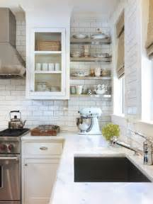 Houzz Kitchen Tile Backsplash by Best White Subway Tile Backsplash Design Ideas Amp Remodel