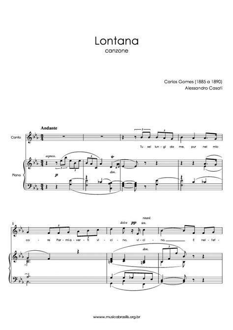 Carlos Gomes - Lontana | Musica Brasilis