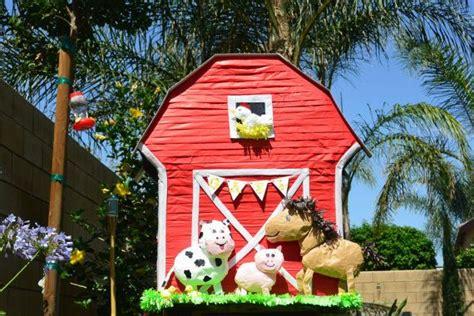 barn pinata farm birthday custom pinata custom barnyard pinata farm