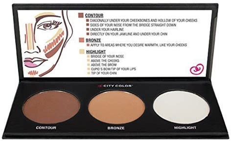 Harga Makeover Professional Highlight Contour Palette contour effects palette kit makeup cosmetic