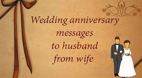 Wedding Anniversary Messages to Husband from Wife