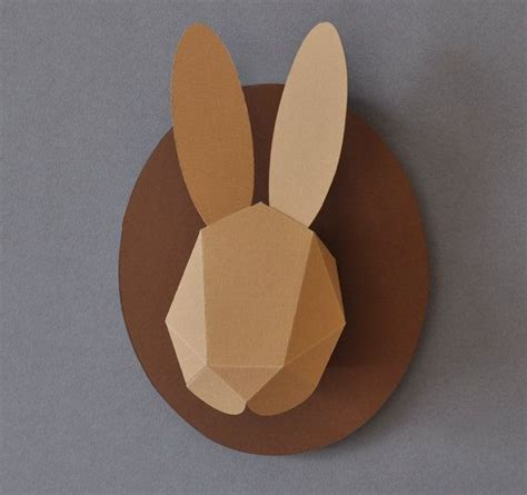 Paper Craft Rabbit - rabbit paper paper