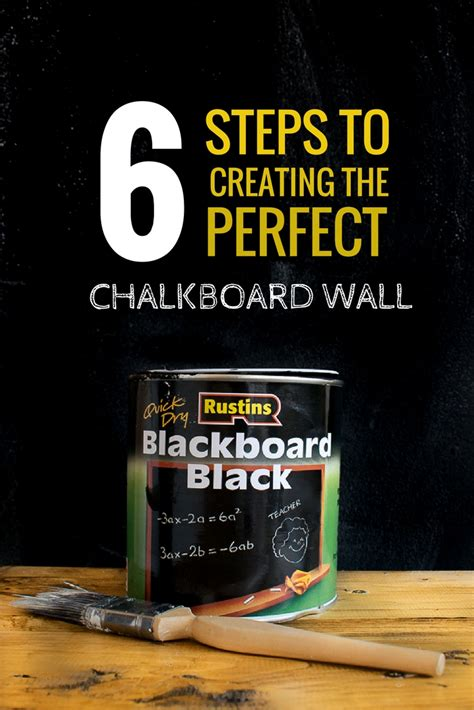 chalkboard paint easy to clean 6 steps to creating the chalkboard wall grillo