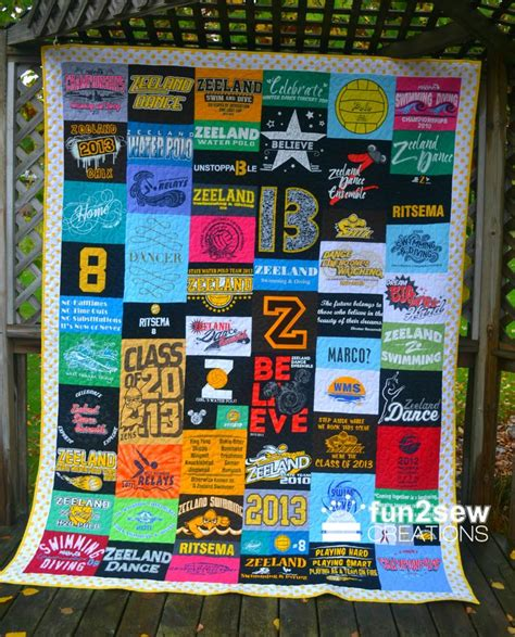 Running Shirt Quilt by 16 Best Images About Fun2sew T Shirt Quilts On