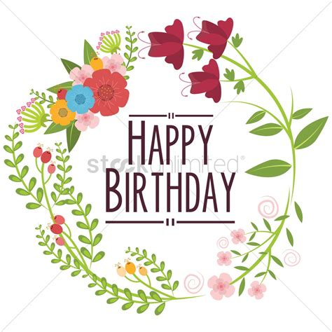 happy birthday vector design happy birthday vector image 1797500 stockunlimited