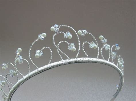 Handmade Wedding Tiaras - 1000 ideas about pearl on tattoos