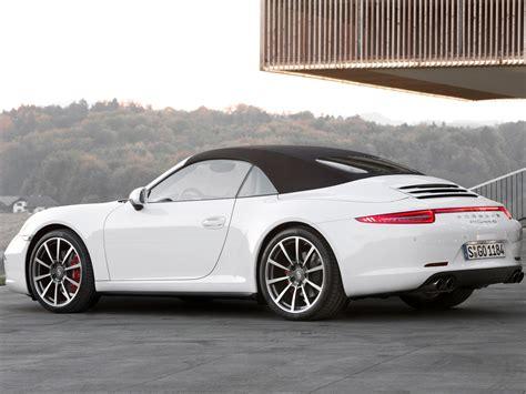 porsche 911 convertible white porsche 911 carrera 4s cabriolet 991 specs 2012 2013