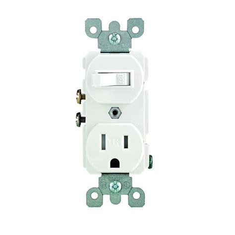 leviton 15 ter resistant combination switch and