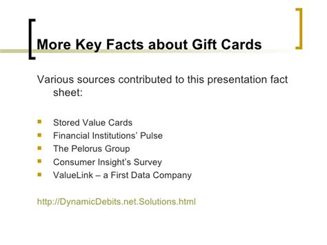 Gift Card Facts - gift cards powering profit ability
