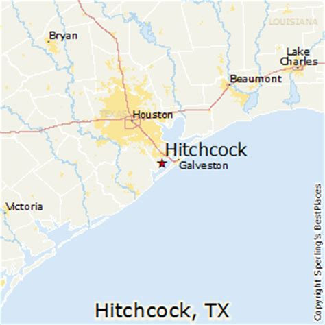 hitchcock texas map best places to live in hitchcock texas