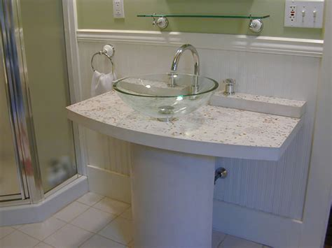 concrete bathroom vanity top how to cast a concrete vanity top bathroom