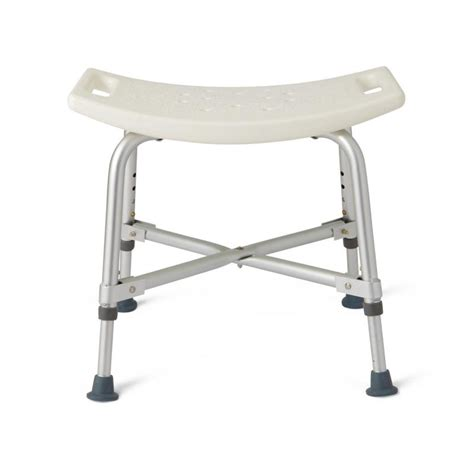 bariatric heavy duty shower chair without back medline
