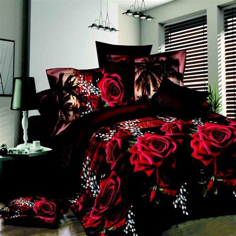 large size 3d bedding set bed linen bedding sets family set 4 pcs duvet cover flat sheets