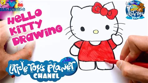 drawing images for kids little toys planet hello kitty cartoon drawing drawing