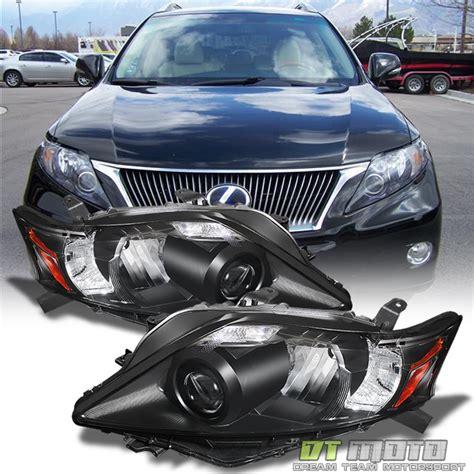 lexus rx 350 headlights afs hid 2010 2012 lexus rx rx350 xenon d4s jdm black