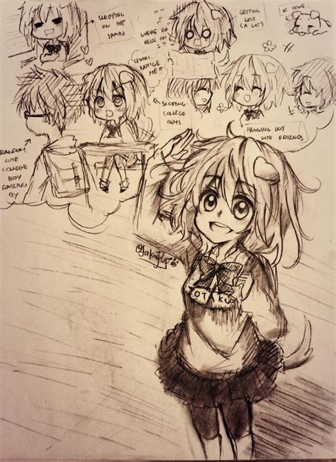 Sketches To Do When Bored by Sketches I Draw While I M In College And Bored 5 By