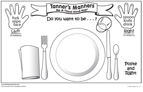 coloring pages for manners free coloring pages of table manner for children