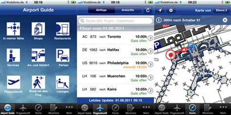 airport guides flight tracking status airport parking new app to improve wayfinding at frankfurt airport