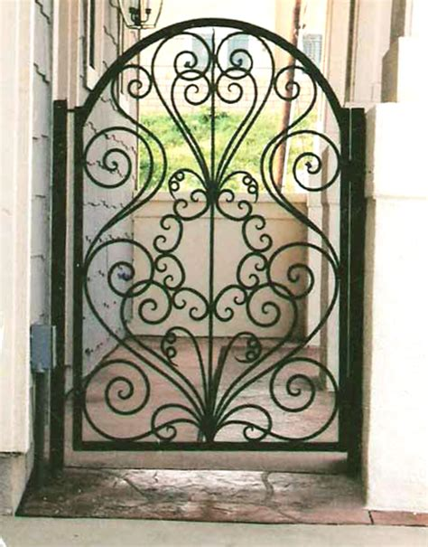 Design Of Iron Door by Gate Designs Wrought Iron Gate Designs