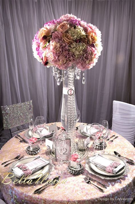 "Wedding Decor Inspiration! Pink & Crystal ""Enchanted"