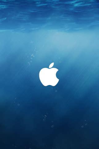 Apple Mac Brand Logo Iphone Wallpaper 4 4s 55s 5c 66s Plus apple ios 8 underwater logo iphone 5 wallpaper hd free