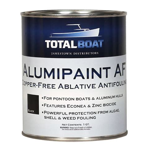 boat hull antifouling paint totalboat alumipaint af aluminum and pontoon boat