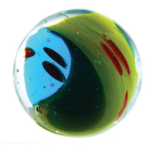 Handmade Marbles - yin and yang handmade marble assorted colours