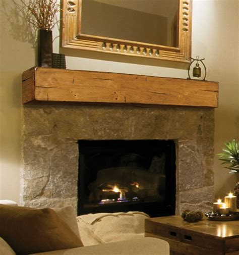 Fireplace Mante by Pearl Mantels 496 Wooden Fireplace Mantel Shelf