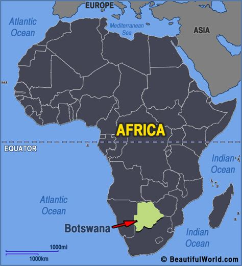 africa map botswana map of botswana facts information beautiful world