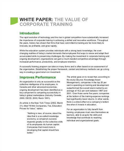 Paper Courses - 32 white paper formats