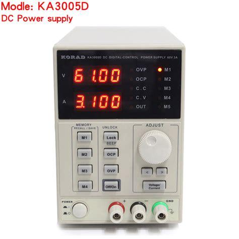korad ka3005d high precision adjustable digital dc power
