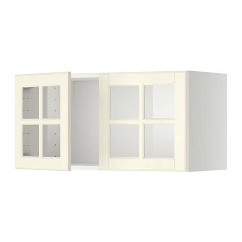 white kitchen cabinet doors for sale ikea glass kitchen metod wall cabinet with 2 glass doors white bodbyn off
