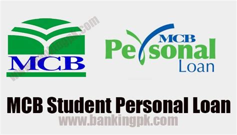 Mba Credit Hours In Pakistan by Mcb Student Personal Loan In Pakistan Banking Pk