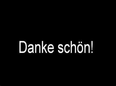 danke schoen how to say quot danke sch 246 n quot german