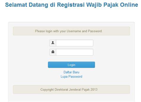 cara membuat npwp online 2014 cara mudah membuat npwp secara online