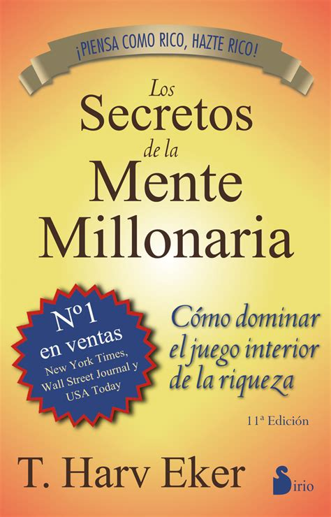 libro los expedientes secretos de los secretos de la mente millonaria t harv eker libro