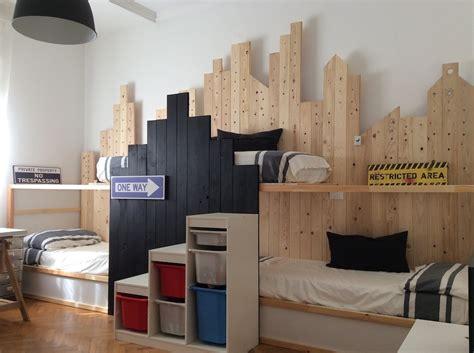 ikea tuffing bunk bed hack bunk beds for 3 in ikea kura city ikea hackers