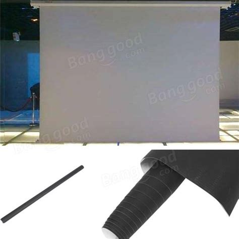 projector screen curtain 100 inch 16 9 white portable home projector screen cinema