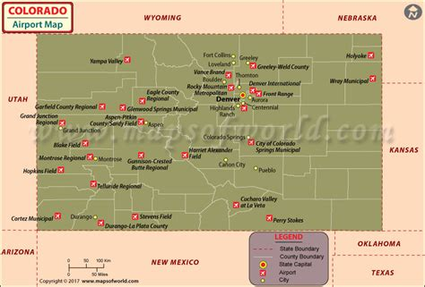 map of airports in colorado colorado history geography population state facts