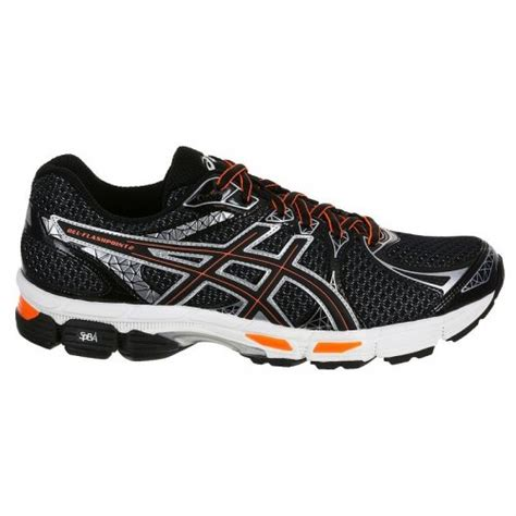 asics running shoes supination asics gel runmiles black silver neutral supination mens