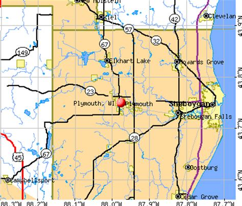 population of plymouth wi plymouth wisconsin wi 53073 profile population maps