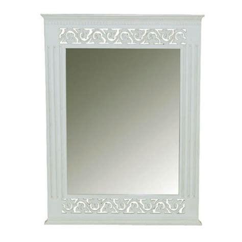 white shabby chic wall mirror belgravia chic wall mirror white