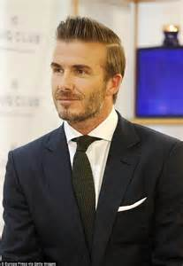 hairstyles for men for a forty yr old david beckham steps out at haig club whiskey event in