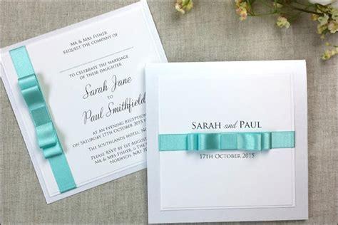 satin bow wedding invitations 14 out of the box handmade wedding invitations