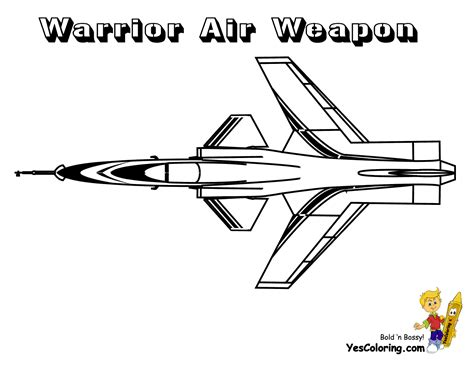 Ferocious Fighter Jet Planes Coloring Jet Planes Free Planes Coloring Page