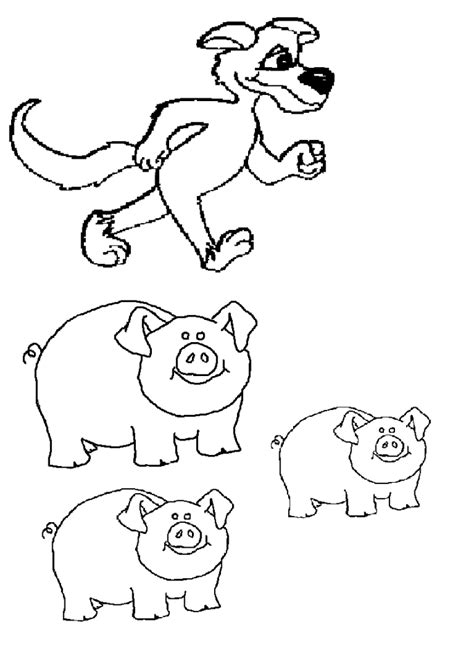 3 little pigs characters preschool projects pinterest