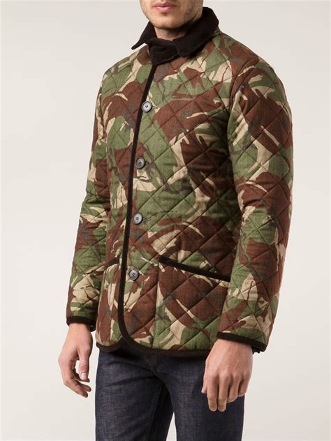 Mackintosh Quilted Jacket by Mackintosh Quilted Jacket In Green For Lyst