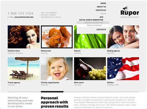wordpress templates for advertising 15 best advertising agency wordpress themes free website
