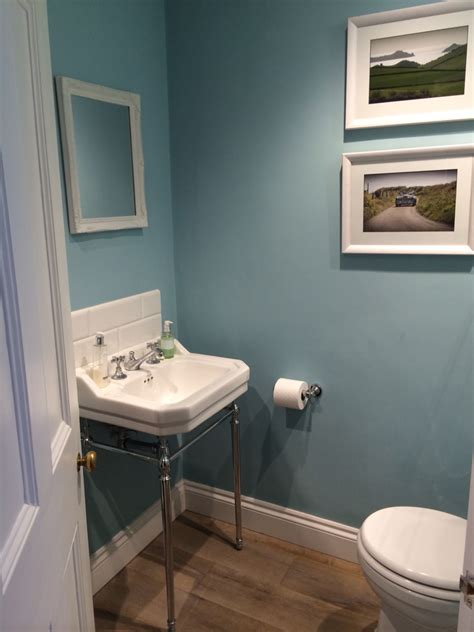 blue ground farrow and in cloakroom master bedroom